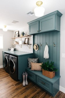 Wonderful Laundry Room Decorating Ideas For Small Space 03