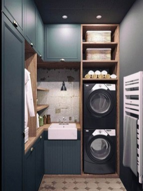 Wonderful Laundry Room Decorating Ideas For Small Space 16