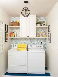 Wonderful Laundry Room Decorating Ideas For Small Space 23