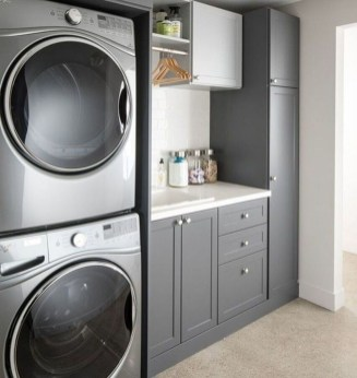 Wonderful Laundry Room Decorating Ideas For Small Space 27