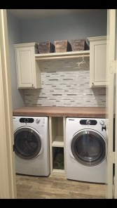Wonderful Laundry Room Decorating Ideas For Small Space 29