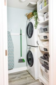 Wonderful Laundry Room Decorating Ideas For Small Space 32