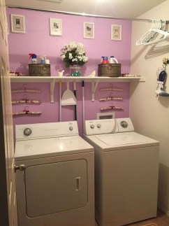 Wonderful Laundry Room Decorating Ideas For Small Space 42