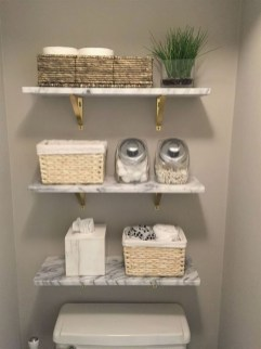 Amazing Bathroom Decor Ideas With Farmhouse Style 13