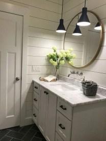 Amazing Bathroom Decor Ideas With Farmhouse Style 20