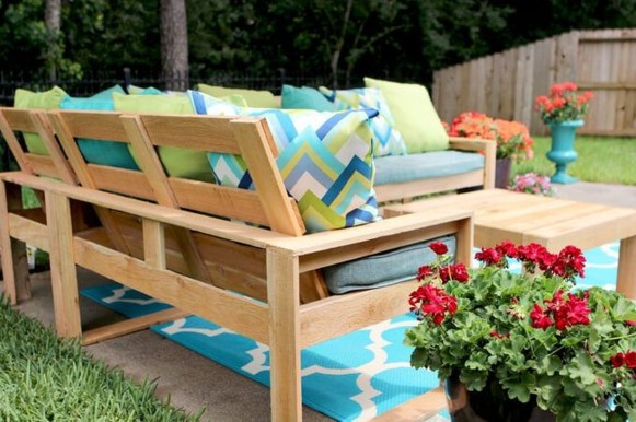 Best DIY Outdoor Furniture Ideas You Can Put In Garden 45