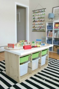 Brilliant Toy Storage Ideas For Small Space 02