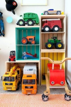 Brilliant Toy Storage Ideas For Small Space 07
