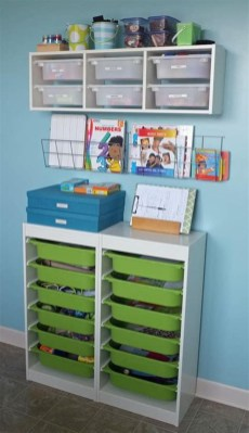 Brilliant Toy Storage Ideas For Small Space 19