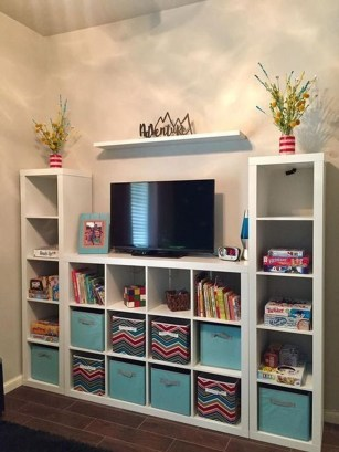 Brilliant Toy Storage Ideas For Small Space 33