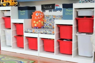 Brilliant Toy Storage Ideas For Small Space 37