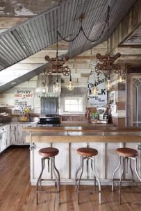 Fabulous Rustic Kitchen Decoration Ideas 33
