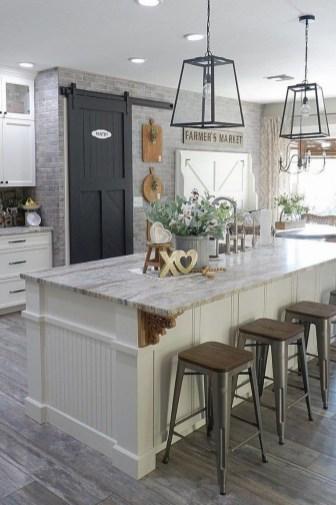 Fabulous Rustic Kitchen Decoration Ideas 49