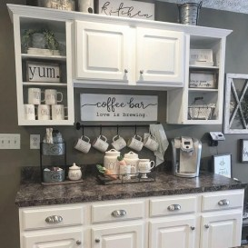 Fantastic DIY Coffee Bar Ideas For Your Home 01