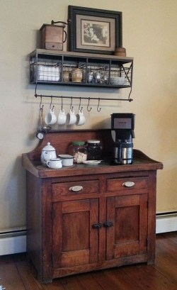 Fantastic DIY Coffee Bar Ideas For Your Home 07