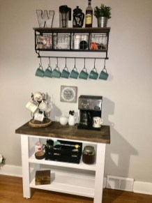 Fantastic DIY Coffee Bar Ideas For Your Home 11