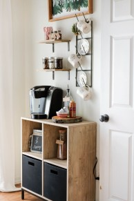 Fantastic DIY Coffee Bar Ideas For Your Home 12