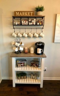 Fantastic DIY Coffee Bar Ideas For Your Home 21