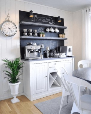 Fantastic DIY Coffee Bar Ideas For Your Home 24