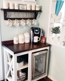 Fantastic DIY Coffee Bar Ideas For Your Home 29