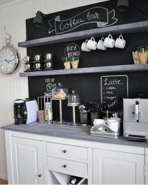 Fantastic DIY Coffee Bar Ideas For Your Home 32