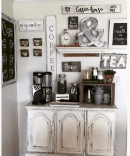 Fantastic DIY Coffee Bar Ideas For Your Home 33