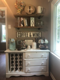 Fantastic DIY Coffee Bar Ideas For Your Home 38
