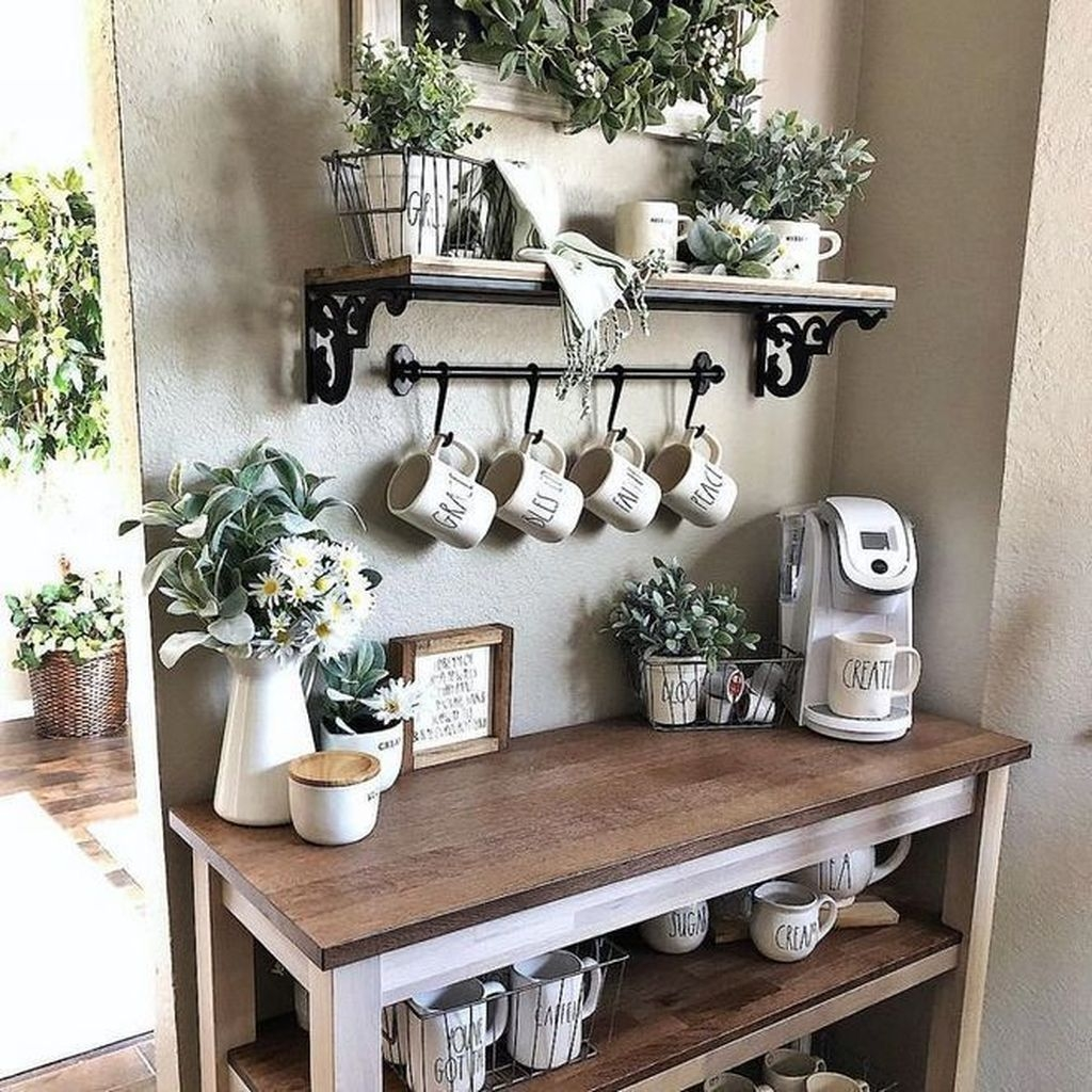 Home Coffee Bar Design Ideas: 30+ Fantastic DIY Coffee Bar Ideas For Your Home