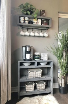 Fantastic DIY Coffee Bar Ideas For Your Home 44
