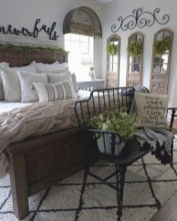 Gorgeous Farmhouse Bedroom Remodel Ideas On A Budget 03