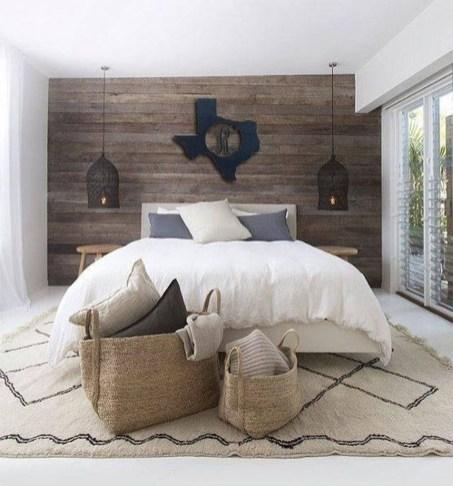 Modern Rustic Master Bedroom Design Ideas 35