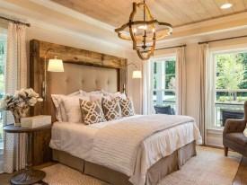 Modern Rustic Master Bedroom Design Ideas 36