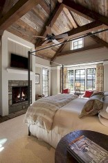 Modern Rustic Master Bedroom Design Ideas 39
