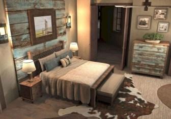 Modern Rustic Master Bedroom Design Ideas 42