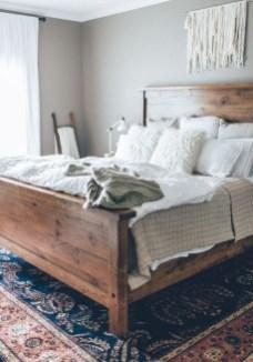 Modern Rustic Master Bedroom Design Ideas 45