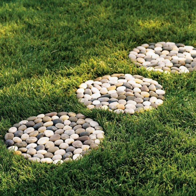 Newest Stepping Stone Pathway Ideas For Your Garden 28