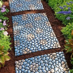Newest Stepping Stone Pathway Ideas For Your Garden 31