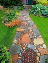 Newest Stepping Stone Pathway Ideas For Your Garden 33