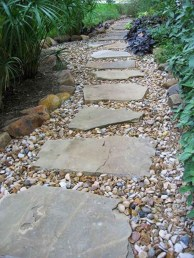 Newest Stepping Stone Pathway Ideas For Your Garden 43