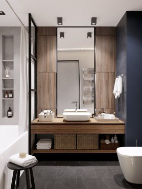 Outstanding Bathroom Mirror Design Ideas For Any Bathroom Model 36