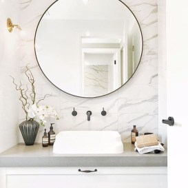 Outstanding Bathroom Mirror Design Ideas For Any Bathroom Model 40