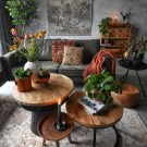 Rustic Living Room Decoration Ideas With Bohemian Style 25