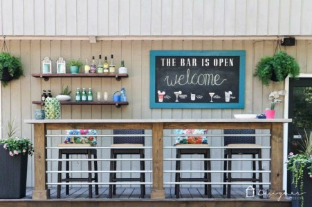 Unusual DIY Outdoor Bar Ideas On A Budget 23