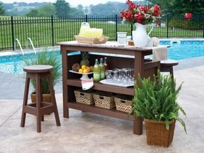Unusual DIY Outdoor Bar Ideas On A Budget 29