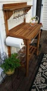 Unusual DIY Outdoor Bar Ideas On A Budget 30