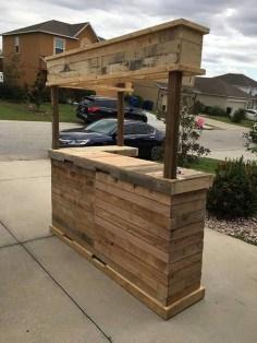 Unusual DIY Outdoor Bar Ideas On A Budget 40