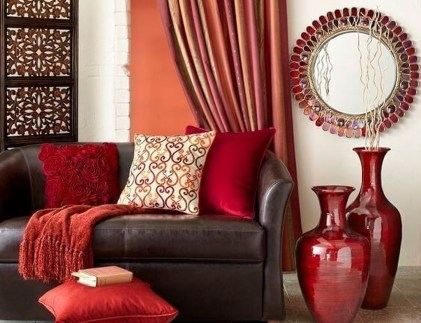 Adorable Colorful Pillow Ideas For Cozy Living Room 33