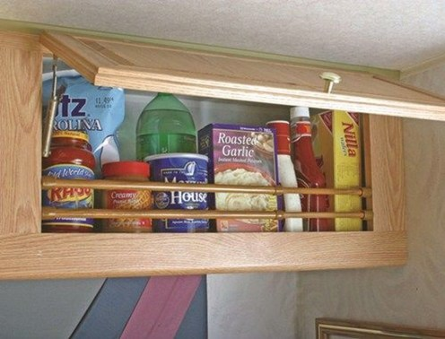 Best RV Kitchen Storage Ideas For Cozy Cook When The Camping 32