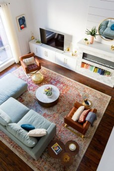 Charming Living Room Design Ideas For Sweet Home 07