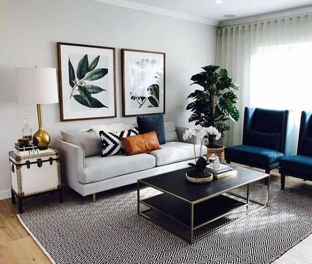 Charming Living Room Design Ideas For Sweet Home 40